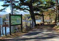 松原湖畔遊歩道