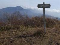 殿城山山頂 (1800m)